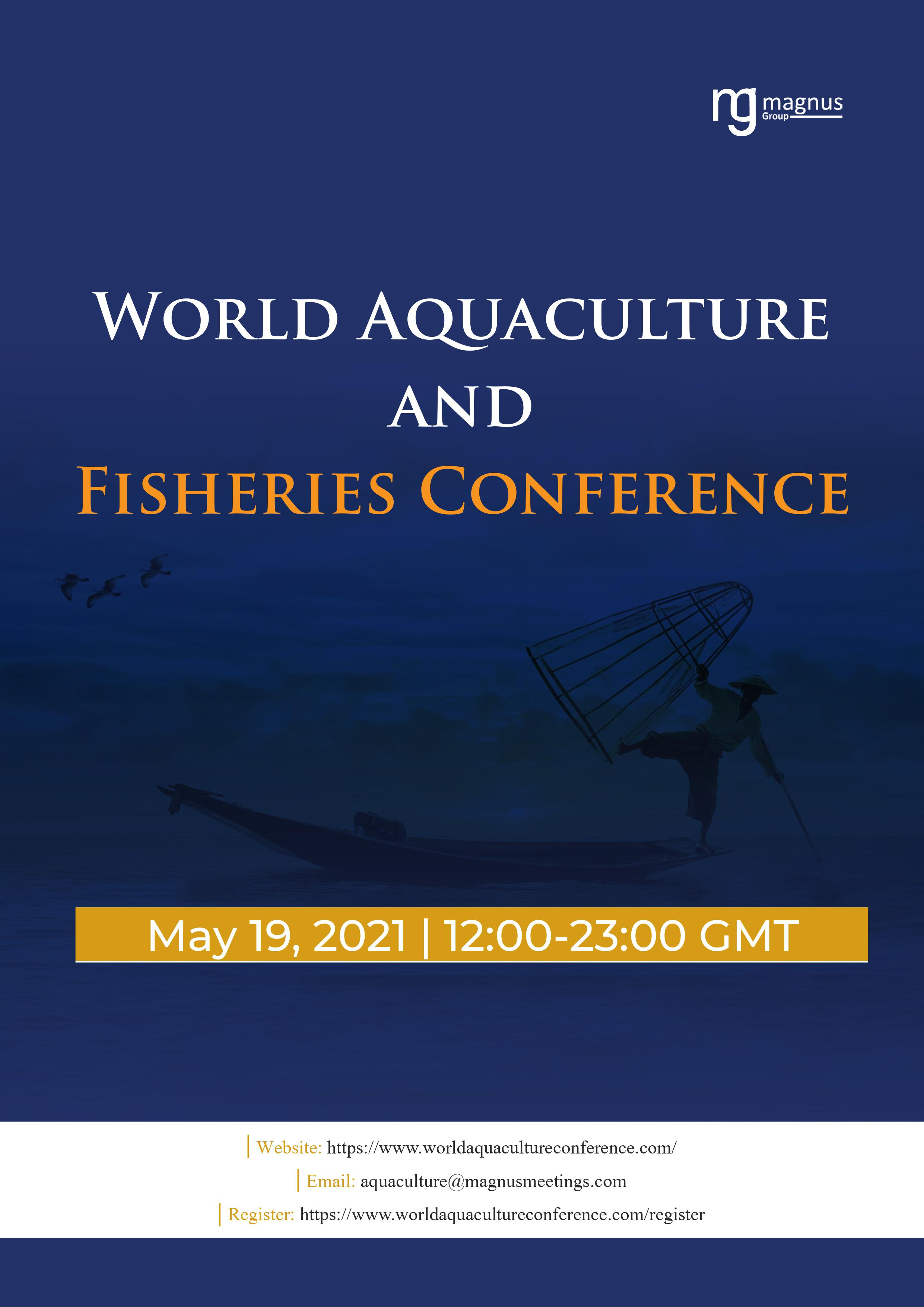 World Aquaculture and Fisheries Conference | Virtual Event Book